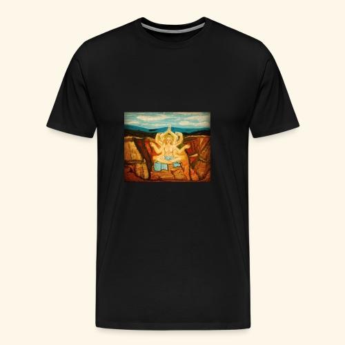 Higher Meditation - Men's Premium T-Shirt