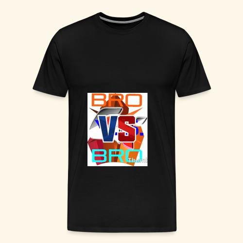 BroVSBro - Men's Premium T-Shirt