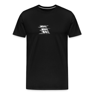 grey shape logo - Men's Premium T-Shirt