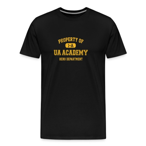 ua my hero academia - Men's Premium T-Shirt