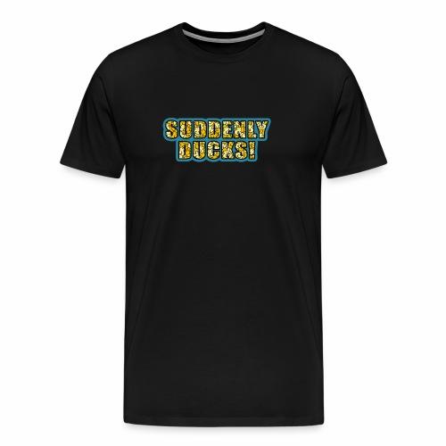 Duck-Filled Text - Men's Premium T-Shirt