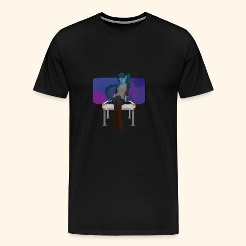 Alien Girlfriend T-Shirt - Men's Premium T-Shirt