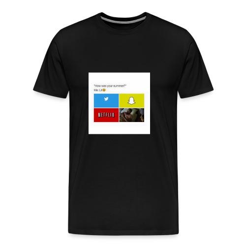 First shirt - Men's Premium T-Shirt