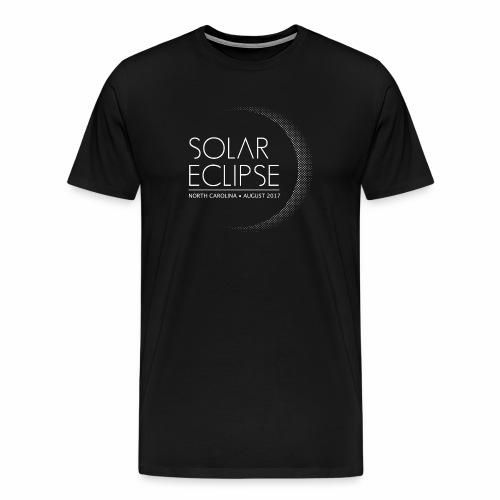 Solar Eclipse North Carolina 2017 - Men's Premium T-Shirt