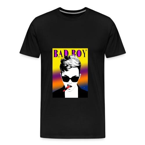 bad boy images hd - Men's Premium T-Shirt