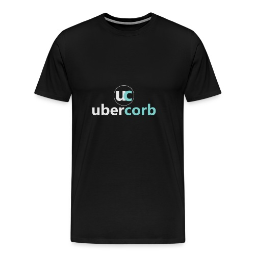 Vertical Logo Set - Men's Premium T-Shirt