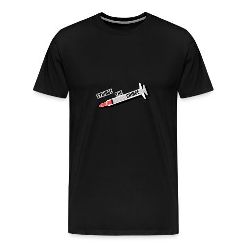 syringe the cringe - Men's Premium T-Shirt