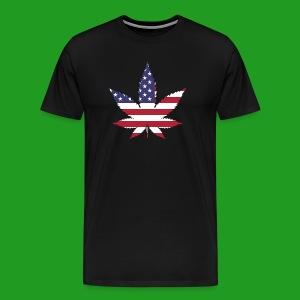 American Leaf - Men's Premium T-Shirt