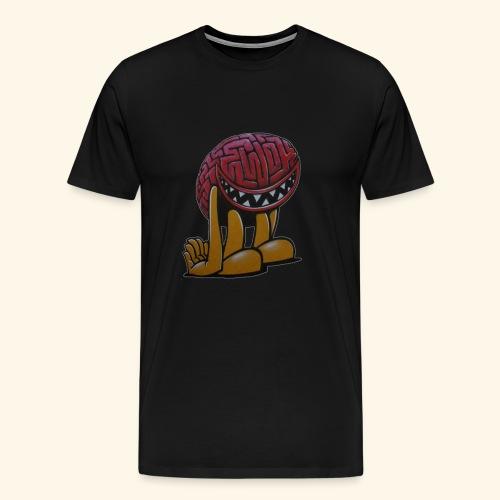 Monster Brain - Men's Premium T-Shirt