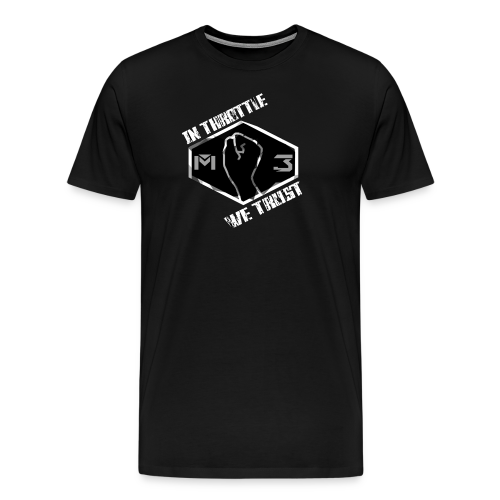 IN THROTTLE WE TRUST - Men's Premium T-Shirt
