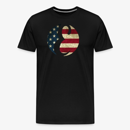 Erivipedia Logo USA old - Men's Premium T-Shirt