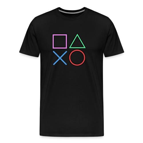 Gamer Buttons - Men's Premium T-Shirt