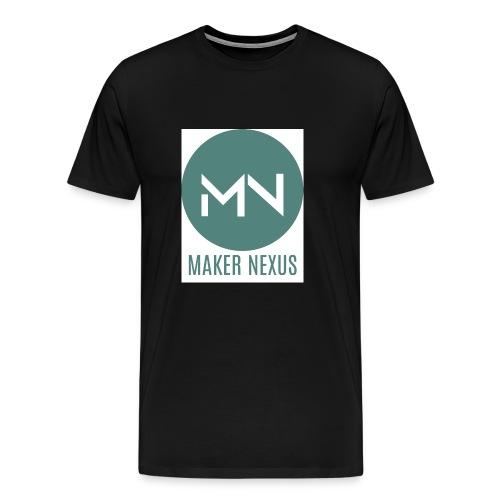 Maker Nexus Logo on white square - Men's Premium T-Shirt