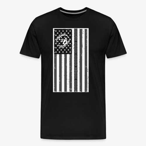 Tattered LS6 Theater Flag - Men's Premium T-Shirt