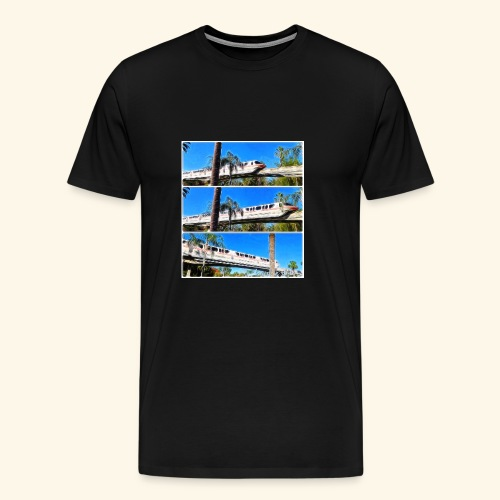 monorail - Men's Premium T-Shirt