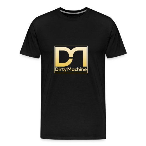 10032 Dirty Machine Logo T 02 1 - Men's Premium T-Shirt