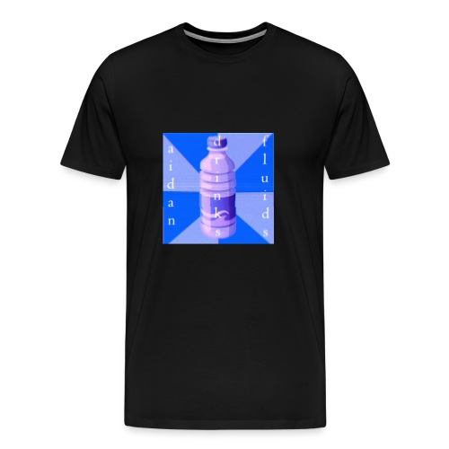 Aidan Drinks Fluids Logo - Men's Premium T-Shirt