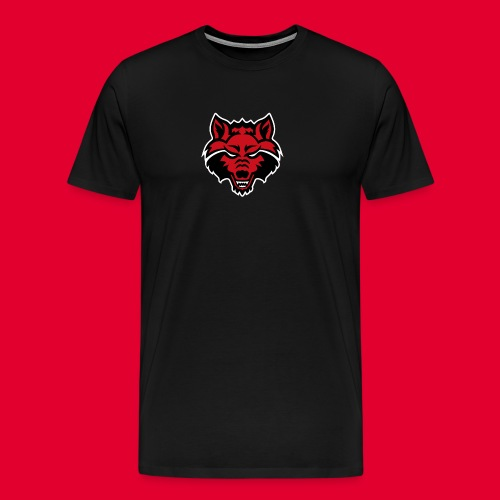 Red Wolf - Men's Premium T-Shirt