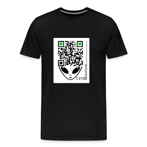 UFO Muséum Public Historical Archives - Men's Premium T-Shirt