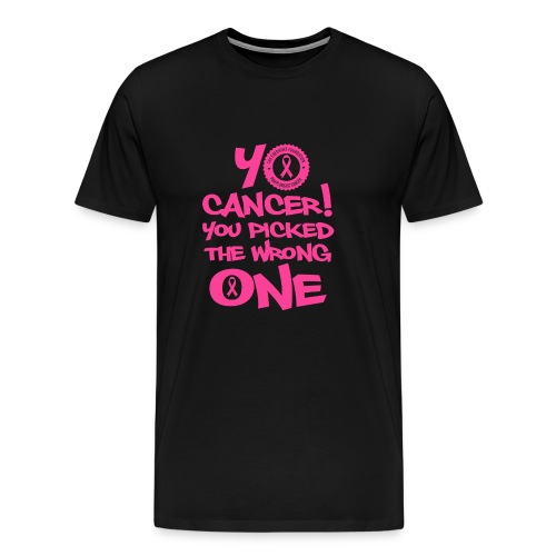 YO CANCER - Men's Premium T-Shirt