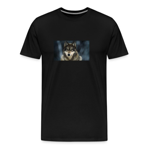 gray wolf closeup jpg adapt 945 1 - Men's Premium T-Shirt