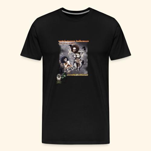 MUMMY SISTAS ON HALLOWEEN - Men's Premium T-Shirt