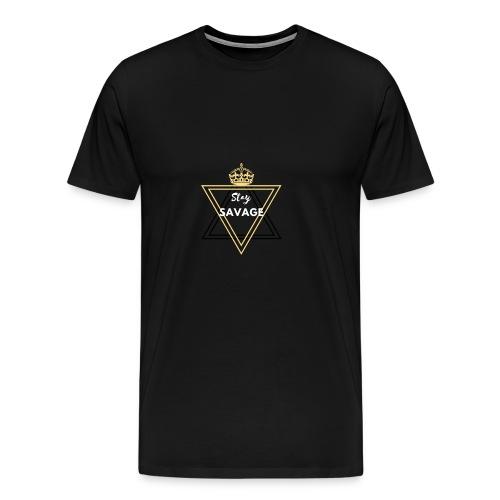 Stay Savage 3 - Men's Premium T-Shirt