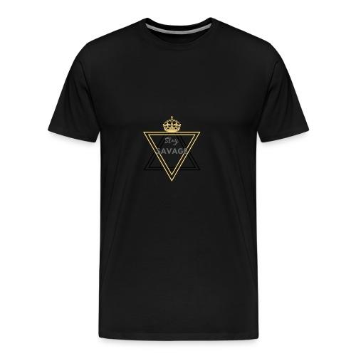Stay Savage 2 - Men's Premium T-Shirt