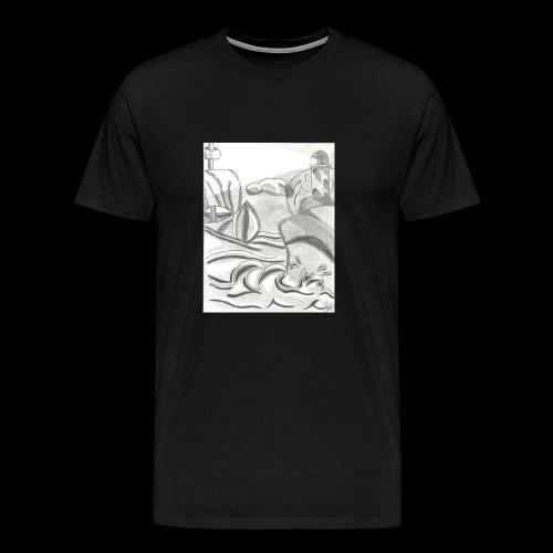 abstracto - Men's Premium T-Shirt