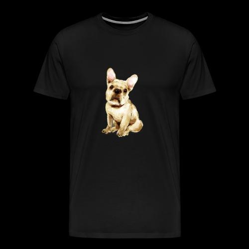 French Bulldog I beloved Frenchi - Men's Premium T-Shirt