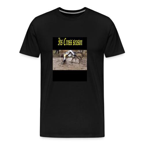 its cross season - Men's Premium T-Shirt