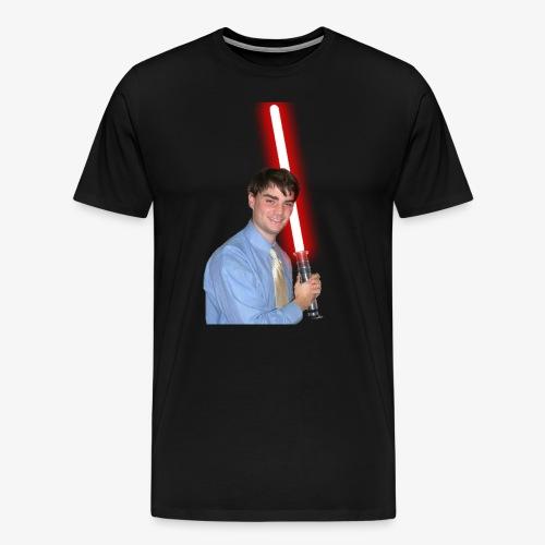 Ben With Lightsaber - Men's Premium T-Shirt