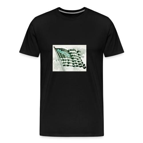 American Flag #METOO - Men's Premium T-Shirt