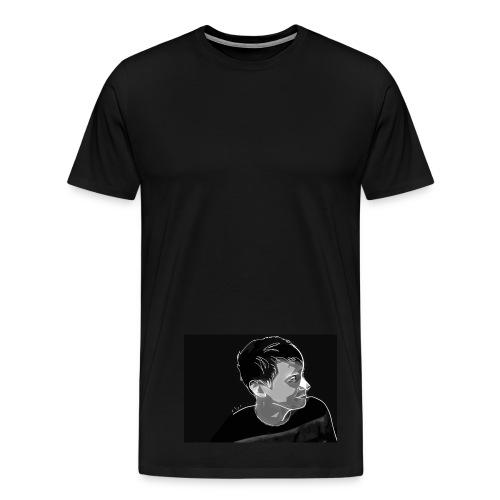 girl i love you - Men's Premium T-Shirt