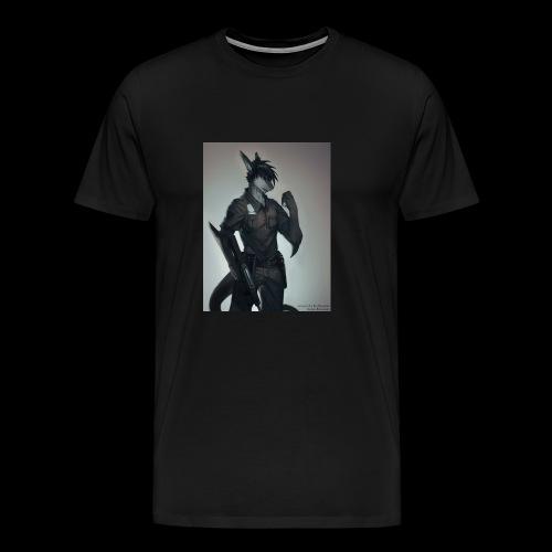 riptideshark officer riptide requesting backup - Men's Premium T-Shirt