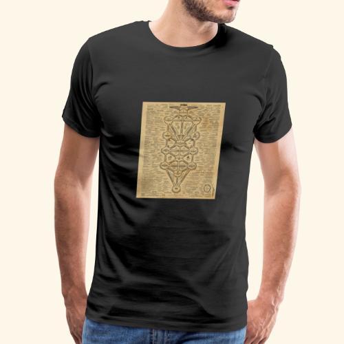 cult of baal map - Men's Premium T-Shirt