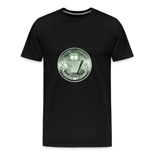 Illuminati Piramid - Men's Premium T-Shirt