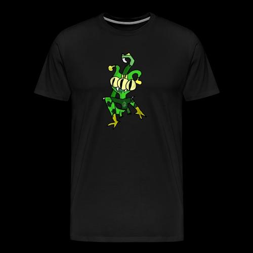 Three-Eyed Alien - Men's Premium T-Shirt
