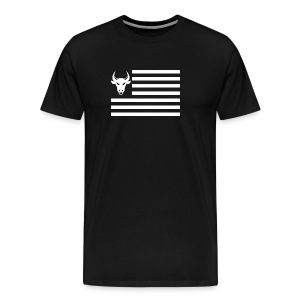 PivotBoss Flag White - Men's Premium T-Shirt