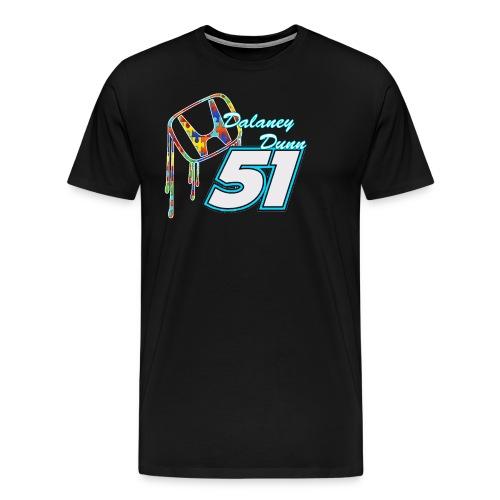 Dalaney Dunn Racing Logo - Men's Premium T-Shirt