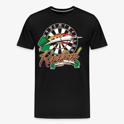 Radical Darts Shirt - Men's Premium T-Shirt