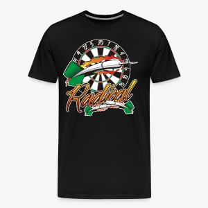 Radical Darts Shirt - Men's Premium T-Shirt