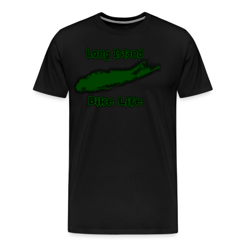 Long Island Bike Life (GREEN) - Men's Premium T-Shirt