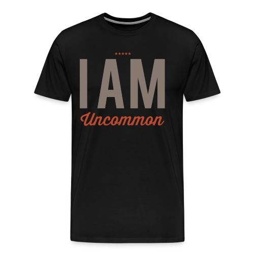 I Am Uncommon - Men's Premium T-Shirt