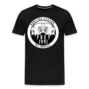 Hunting season emblem big - Men's Premium T-Shirt