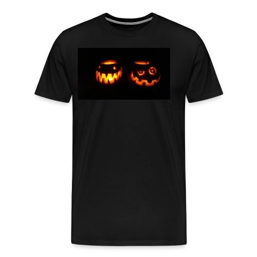 Halloween Pumpkins - Men's Premium T-Shirt