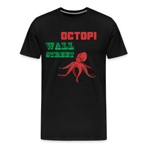 Octopi Wall Street - Men's Premium T-Shirt