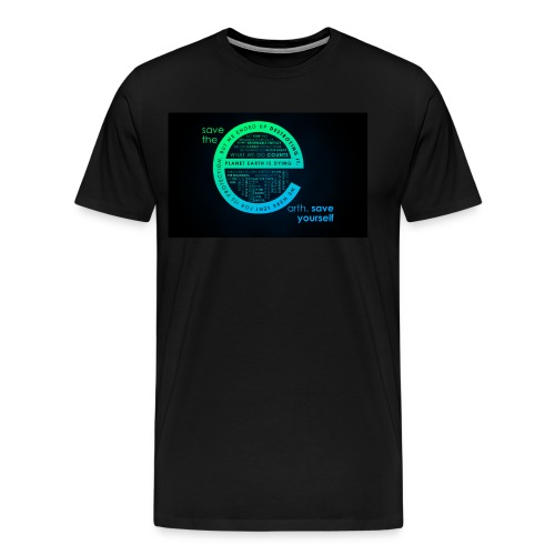 save the earth for UAE - Men's Premium T-Shirt