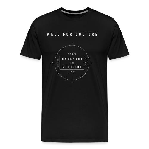 Movement is Medicine - Men's Premium T-Shirt