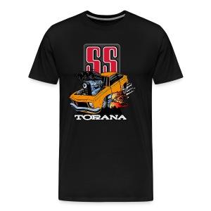 Holden T Shirt Torana LX SS Hatch Colour - Men's Premium T-Shirt